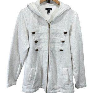 Torrid Fleece Military Hoody Jacket
